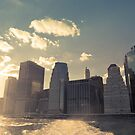 NYC Skyline - Sunset by Vivienne Gucwa