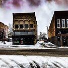 1215 Purple Snow Storm by WanderingWriter