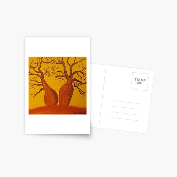 BOAB TREES Postcard