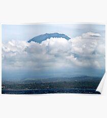 Mount Agung, Off Candi Dasa, Bali Indonesia Poster