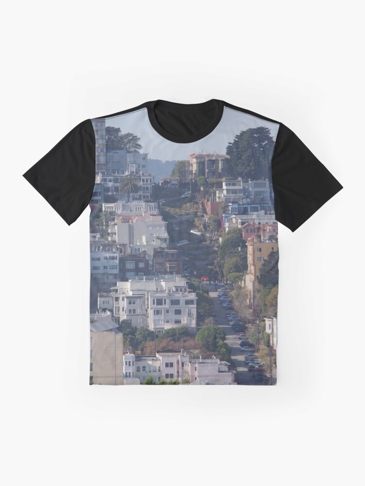 Alternate view of That Very Crooked Street Graphic T-Shirt