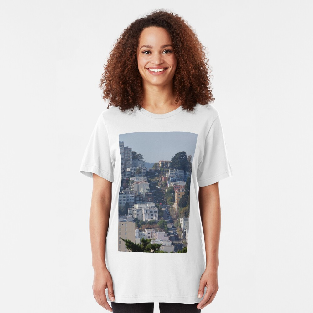 That Very Crooked Street Slim Fit T-Shirt