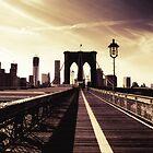 Brooklyn Bridge - New York City by Vivienne Gucwa