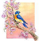 Sweet Little Bluebird by Anneliese Juergensen