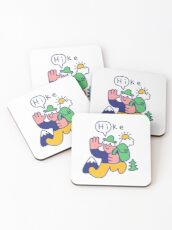 Friendly Hiker Coasters