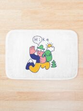 Friendly Hiker Bath Mat