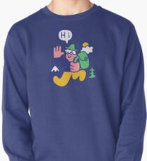Friendly Hiker Pullover Sweatshirt