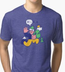 Friendly Hiker Tri-blend T-Shirt