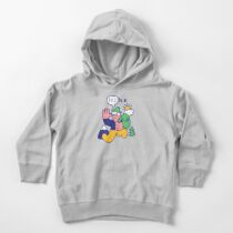 Friendly Hiker Toddler Pullover Hoodie