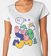 Friendly Hiker Premium Scoop T-Shirt