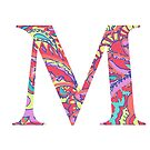 The Letter M - Lily Style by MarcoD