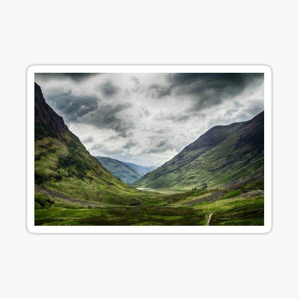 Road to Glencoe Sticker