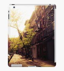 Sunlit Street - Greenwich Village - New York City iPad Case/Skin