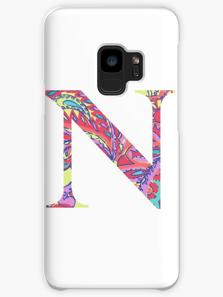 The Letter N Lily Style Cases Skins For Samsung Galaxy By