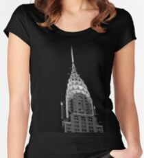 The Chrysler Building - New York City Women's Fitted Scoop T-Shirt