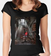 Barber Shop Women's Fitted Scoop T-Shirt