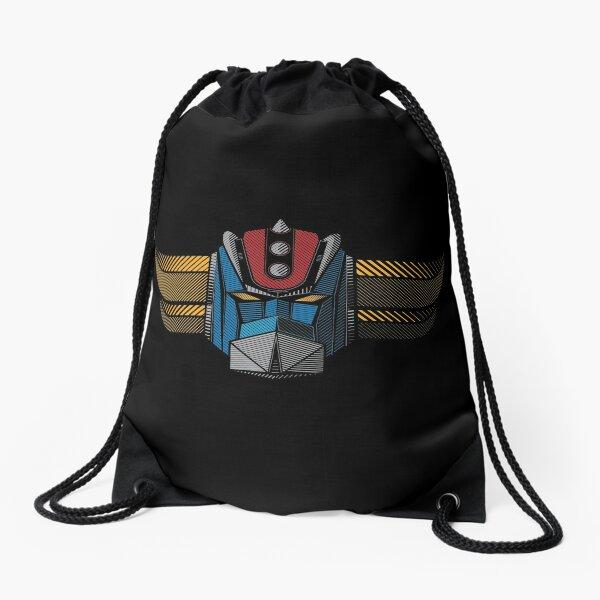 091b Grendizer wide Drawstring Bag