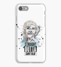 Straight Outta Saint Olaf  iPhone Case/Skin