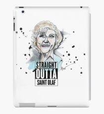 Straight Outta Saint Olaf  iPad Case/Skin