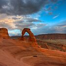 Delicate Arch Sunset by Clayhaus