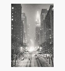 A Winter's Tale - New York City Photographic Print