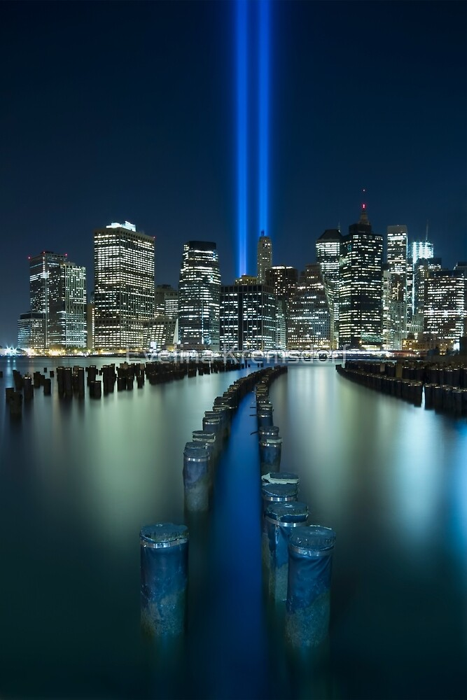 Tribute In Light by Evelina Kremsdorf