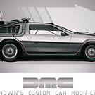 Delorean DMC - Doc Browns Custom Car Modifikationen von Grundelboy