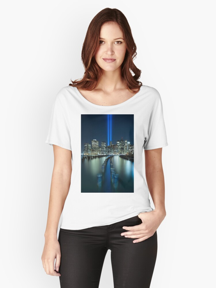 Tribute In Light Women's Relaxed Fit T-Shirt Front