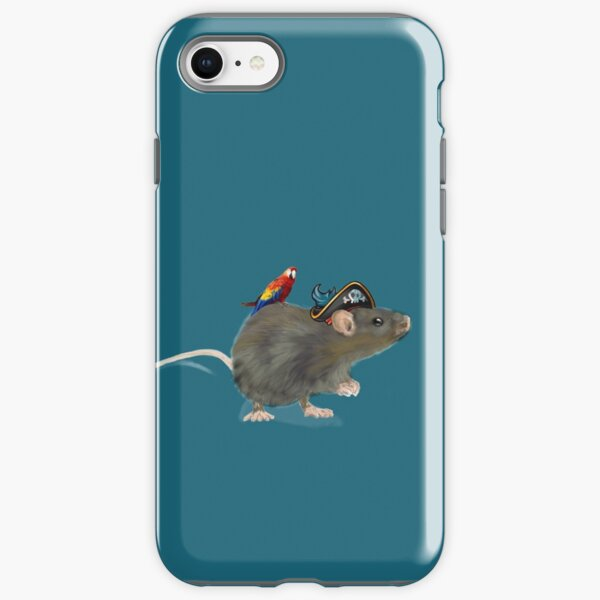 Rata pirata Funda resistente para iPhone