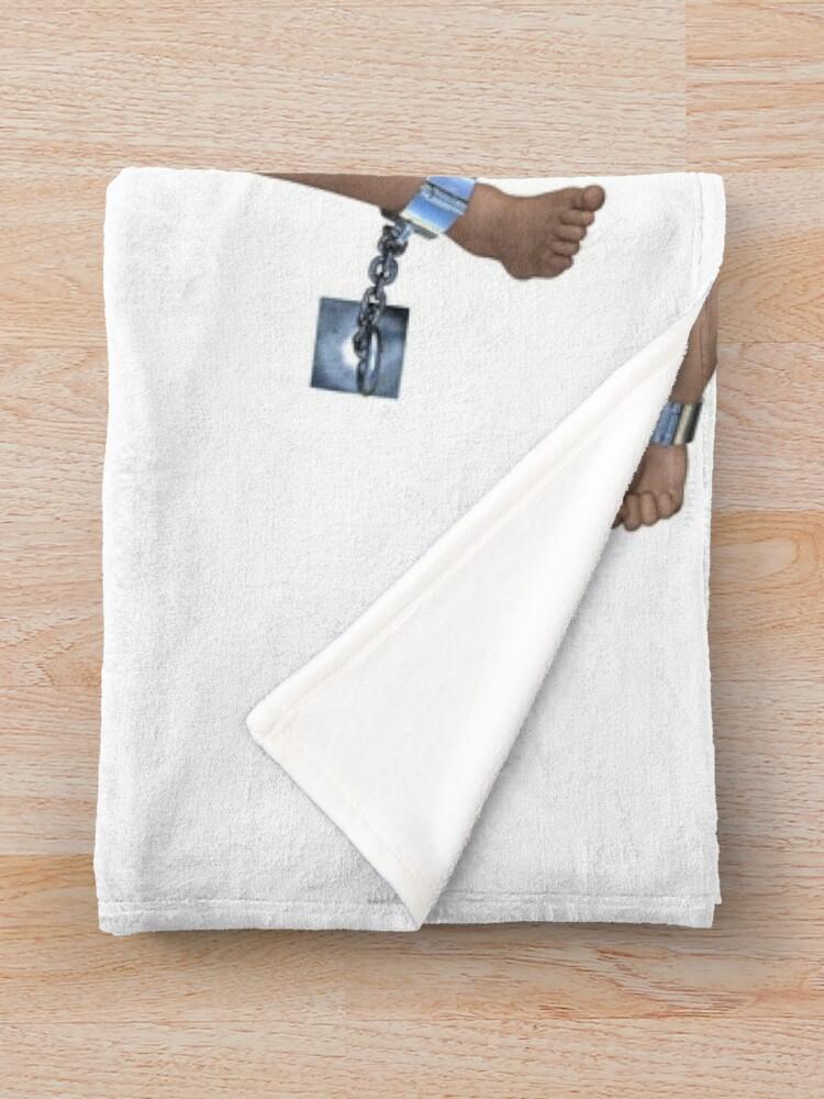 Alternate view of Bondage man | He's your faithful servant Throw Blanket