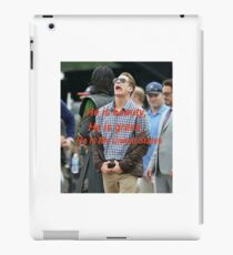 He is beauty, he is grace, he is Mr United States iPad Case/Skin