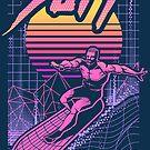 Surf the Vaporwave by artlahdesigns