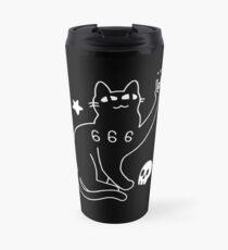 Metal Cat Travel Mug