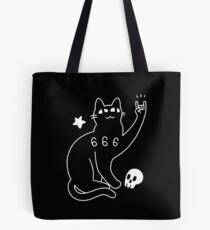 Metal Cat Tote Bag