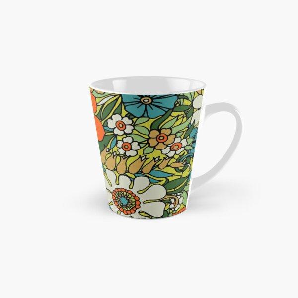 70s Plate Tall Mug
