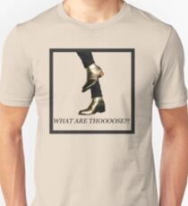 Harry Styles Boots What Are Those Unisex T-Shirt
