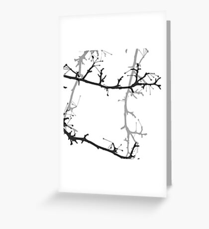 Apple Tree Abstract Greeting Card