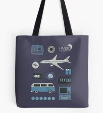 Lost blue Tote Bag