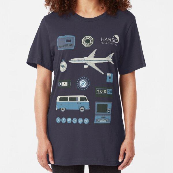 Lost blue Slim Fit T-Shirt