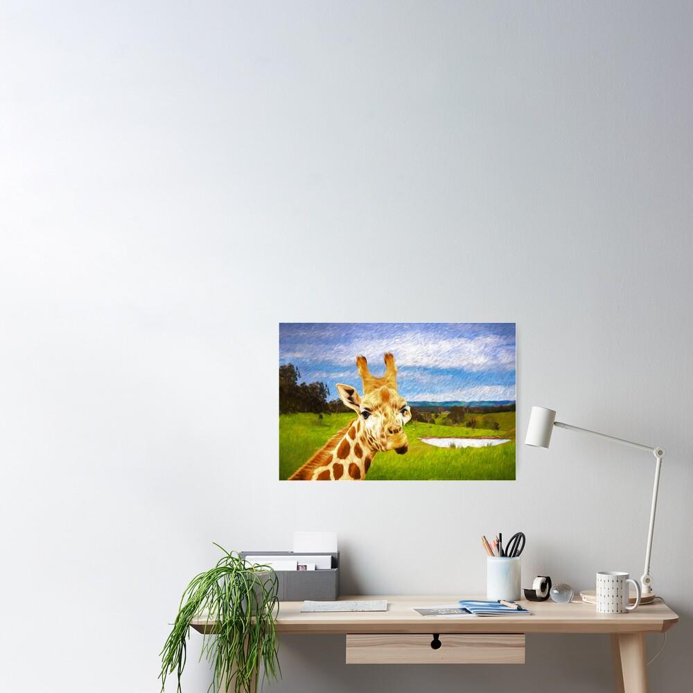 G. Raff Van Go  (digital Painting) Poster