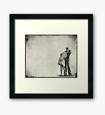 The Power of a Kiss Framed Print