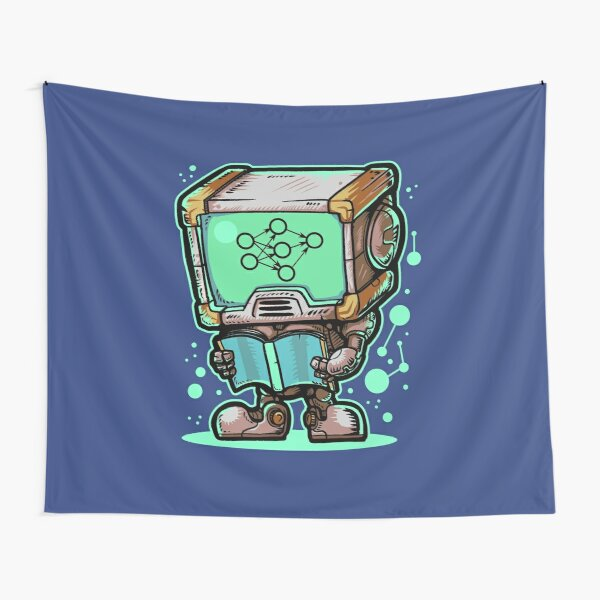 Machine Learning Robot Tapestry