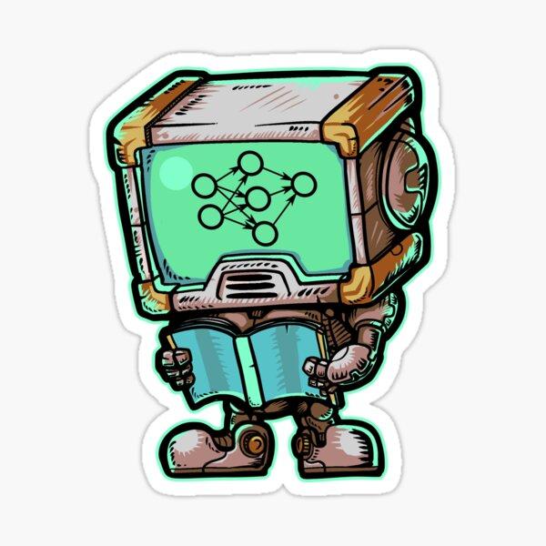 Machine Learning Robot Sticker