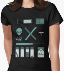 X-Files  Women's Fitted T-Shirt