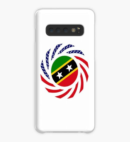 Kittian and Nevisian American Multinational Patriot Flag Series Case/Skin for Samsung Galaxy