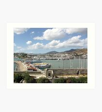 View to the Habour Art Print