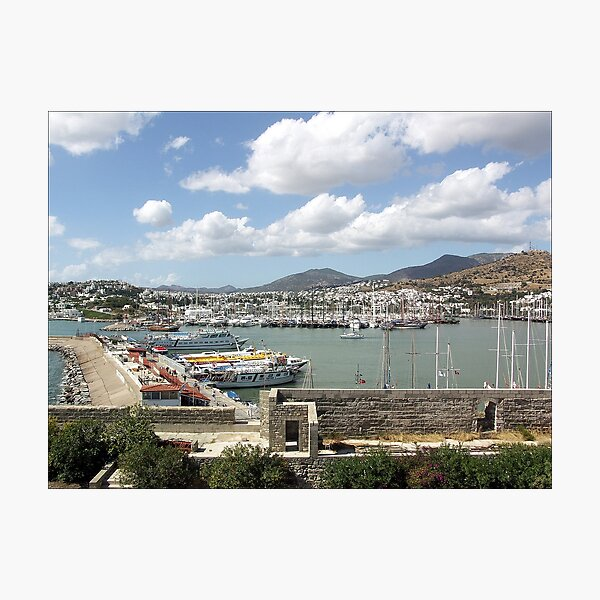 View to the Habour Photographic Print