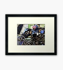 Between Being a Hero and Being a Memory Framed Print