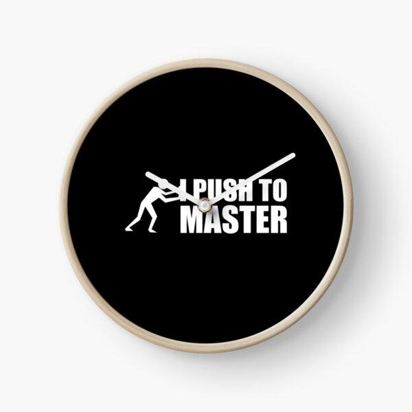 I push to master Uhr