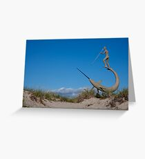 Swordfisherman Greeting Card